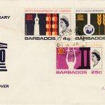 Barbados 1967 UNESCO 20th Anniversary FDC - illustrated cover v2