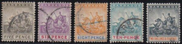 Barbados SG110-114