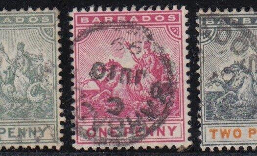 Barbados SG105-109