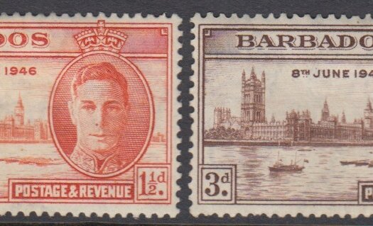 Barbados SG262-263 | Victory