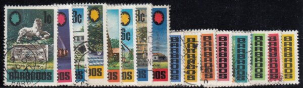 Barbados SG399-414 used set