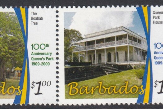 Barbados SG1344-47 | Centenary of Queens Park, Bridgetown