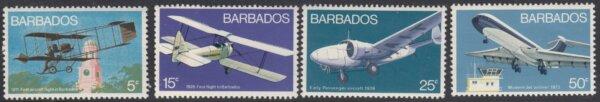 Barbados SG472-475 | Aviation