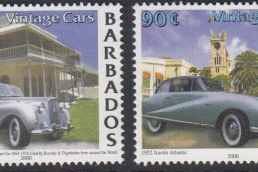 Barbados SG1175-1178 | Classic Cars