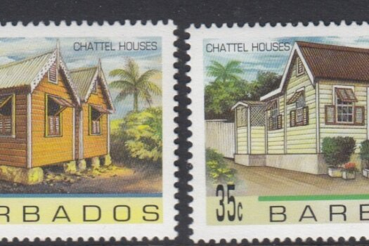 Barbados SG1093-1096 | Chattel Houses
