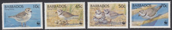 Barbados SG1134-1137 | Endangered Species Piping Plover