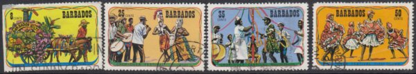 Barbados SG 531-534 | Crop Over Festival (Used)