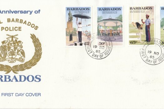 Barbados 1985 | 150th Anniversary of Royal Barbados Police FDC