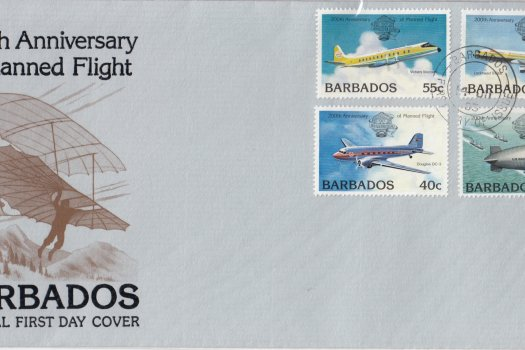 Barbados 1983 | 200th Anniversary of Manned Flight FDC