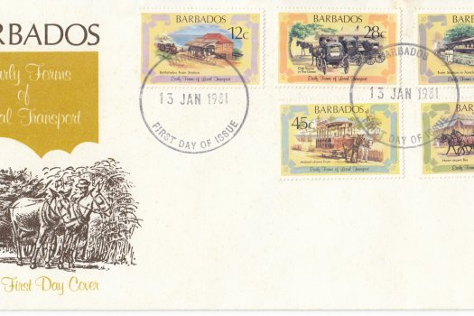 Barbados 1981 | Early Forms of Local Transport FDC