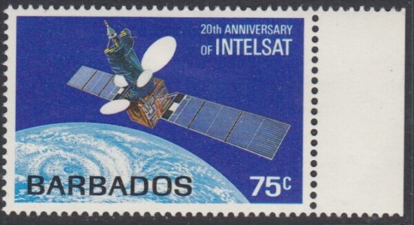 Barbados SG788 | 20th Anniversary of Intelsat Satellite System
