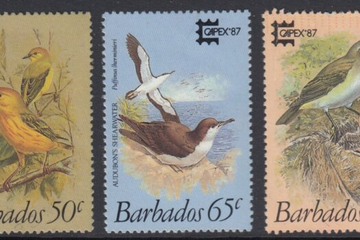 Barbados SG836-840 | Capex '87 Birds of Barbados (Used)