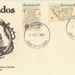 Barbados 1977 | 350th Anniversary of the Granting of the Charter to Carlisle FDC (GPO FDI Rubber Stamp)