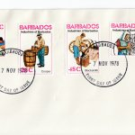 Barbados 1978 | Industries of Barbados on plain FDC