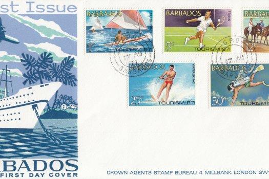 Barbados 1971   Tourism FDC