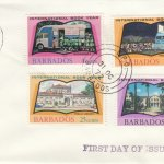 Barbados 1972 | International Book Year on plain FDC