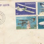 Barbados 1973 | Aviation on plain FDC
