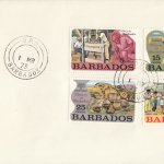 Barbados 1973 | Pottery in Barbados on plain FDC