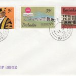 Barbados 1973 | 25th Anniversary of the university of Barbados on plain FDC