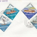 Barbados 1974 | Fishing Boats of Barbados on plain FDC