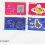 Barbados 1974 | Centenary of the UPU on plain FDC