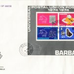 Barbados 1974 | Centenary of the UPU Souvenir Sheet on Illustrated FDC