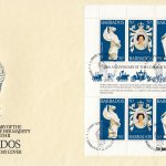 Barbados 1978 | 25th Anniversary of the Coronation of Queen Elizabeth II Souvenir Sheet FDC