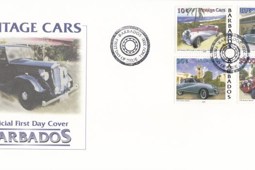 Barbados 2000 | Classic Cars FDC