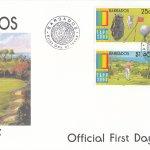 Barbados 2000 | EXPO 2000 World Stamp Exhibition, Anaheim USA (Golf) FDC