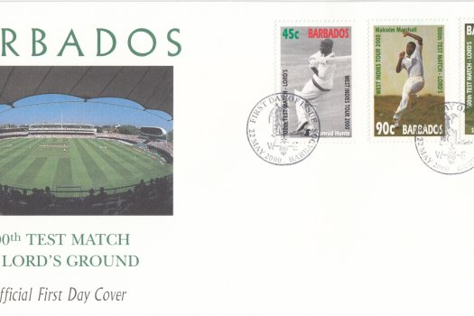 Barbados 2000 | West Indies Cricket Tour and 100th Test Match at Lords FDC