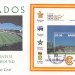 Barbados 2000 | West Indies Cricket Tour and 100th Test Match at Lords Souvenir Sheet FDC