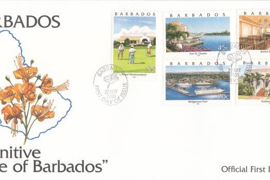 Barbados 2000 | Pride of Barbados Definitives FDC (3)