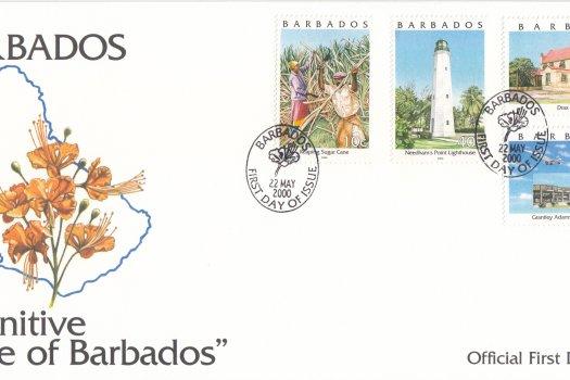 Barbados 2000 | Pride of Barbados Definitives FDC (1)