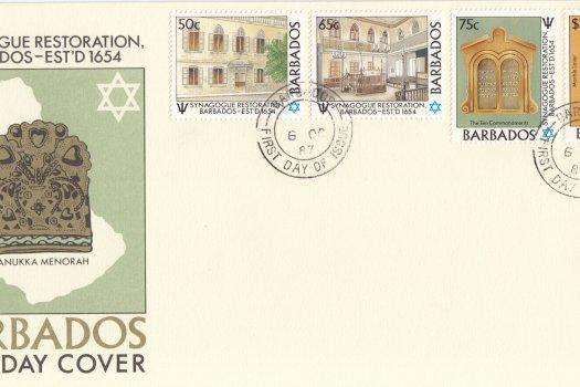Barbados 1987 | Restoration of Bridgetown Synagogue FDC