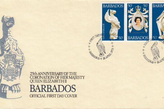 Barbados 1977 | 25th Anniversary of The Coronation of QEII FDC (1)