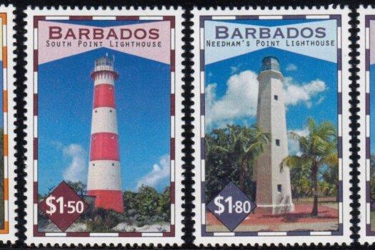 Barbados SG1396-1399 | Lighthouses of Barbados