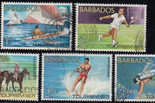 Barbados SG429 - 433 | Tourism (Used)