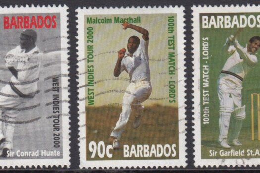 Barbados SG 1167-1169| West Indies Cricket Tour (Used)