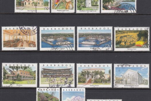 Barbados SG 1153-1166| Pride of Barbados Definitive set (Used)