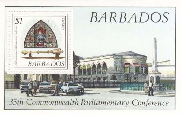 Barbados SGMS889 | 35th Commonwealth Parliamentary Conference