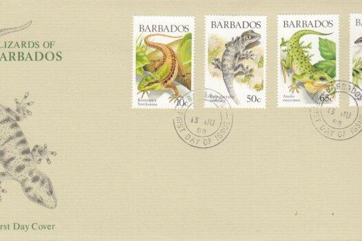 Barbados 1988 | Barbados Lizards FDC