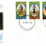 Barbados 1980 | Barbados Regiment FDC