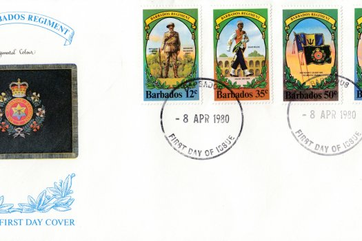 Barbados 1980 | Barbados Regiment FDC