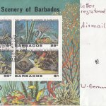 Barbados 1980 | Underwater Scenery of Barbados Souvenir Sheet FDC