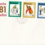 Barbados 1981 | Carifesta Barbados FDC