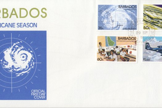 Barbados 1981 | Hurricane Season FDC