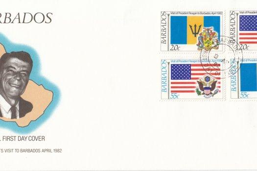 Barbados 1982 | President Reagan's Visit to Barbados FDC