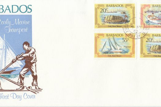 Barbados 1982 | Early Marine Transport FDC