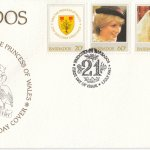 Barbados 1982 | The 21st Birthday of HRH The Princess of Wales FDC