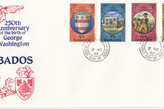 Barbados 1982 | 250th Anniversary of the Birth of George Washington FDC